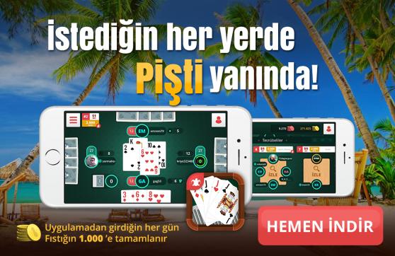 PİŞTİ App Store'da